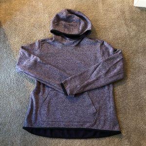 Nike Dri-Fit Purple Hooded Fleece Sweater